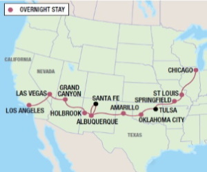 16-Day-Historic-Route-66-Chicago-to-Los-Angeles-itinerary