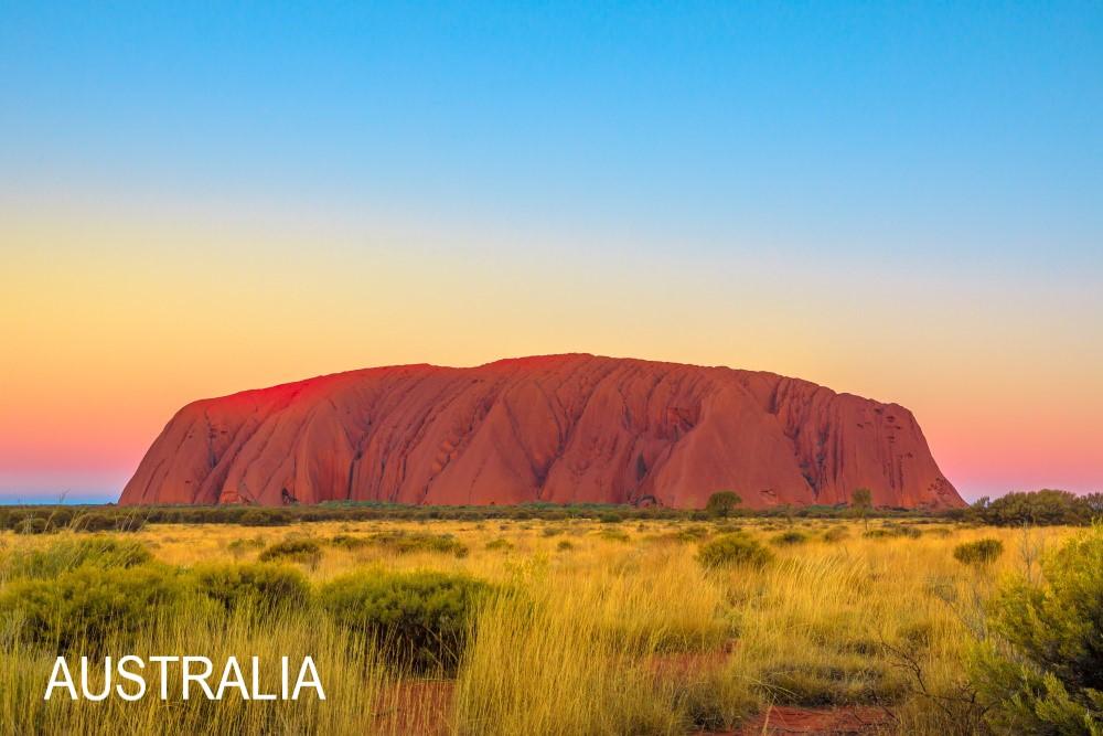 AdobeStock_312669379_Licensed-Uluru after sunset Kata Tjuta National Park Australia outback Red Centre Northern Territory Aboriginal land 2