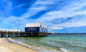 Busselton-pier-jetty-water-sand-sea-sky