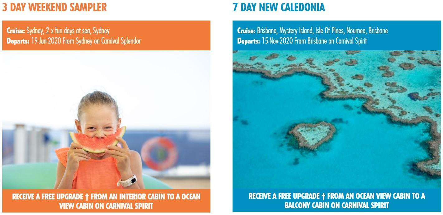 Carnival Cruises Choose Fun Sale Pricing #3