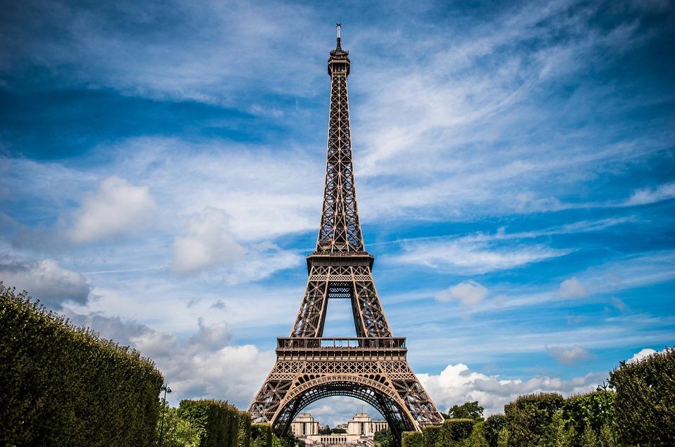 Eiffel-Tower-Paris-France-Architecture