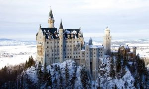 Neuschwanstein-Castle-Bavaria-Germany-winter-snow
