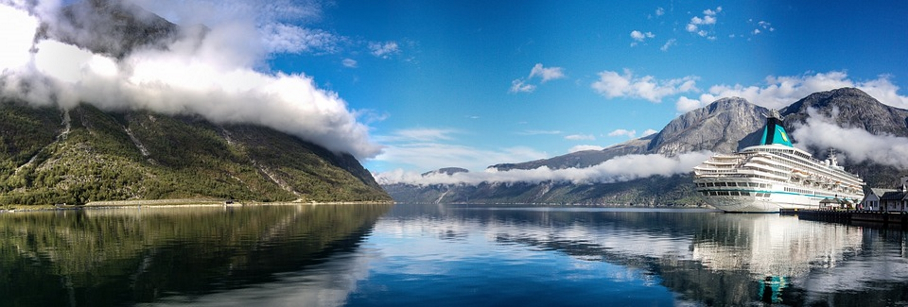 Norway-fjord-panorama-boat-mountain-water-landscape