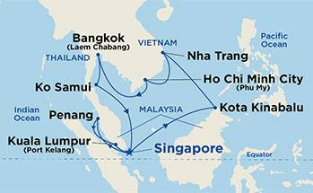 Princes-Cruises-The-Landmark-Sale-Asia-route-map