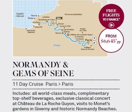 Scenic-Normandy-Gems-of-Seine-11day-cruise-Paris-Paris