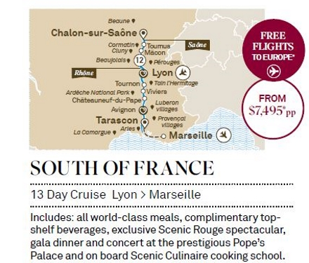Scenic-South-of-France-13day-cruise-Lyon-Marseille
