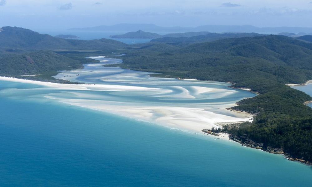 Whitsunday Islands Great Barrier Reef Ocean Blue