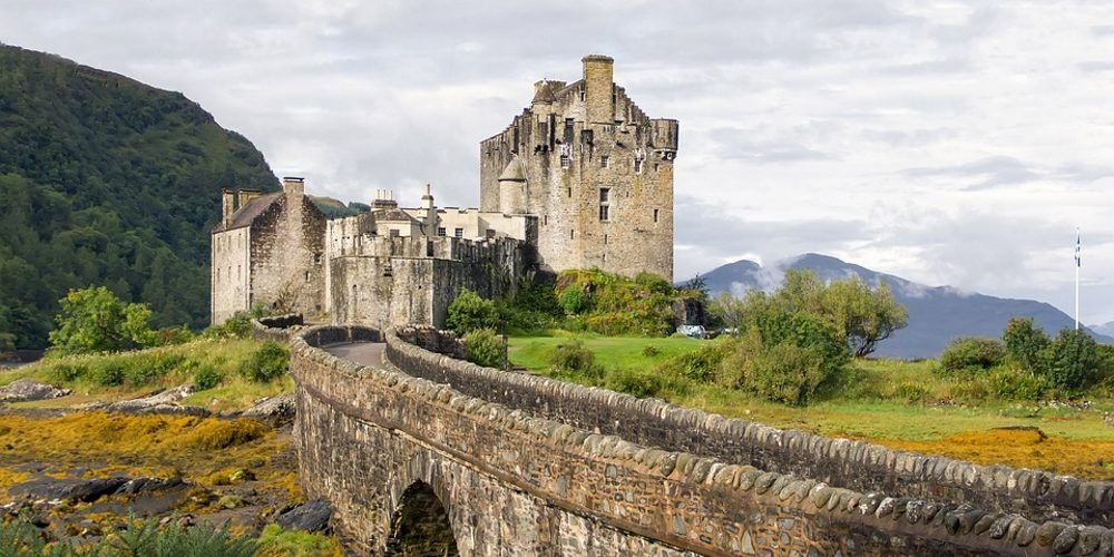 Eilean Donan Castle Scotland Highlands 1