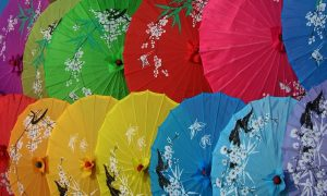 Japan-geisha-umbrellas