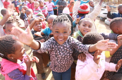 soweto-village-africa-children