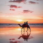 Cable-Beach-Broome-sunset-camel-ride