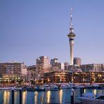 Auckland City Harbour New Zealand